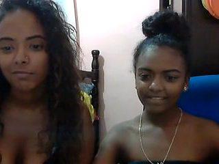 sexy black girl doing selfies