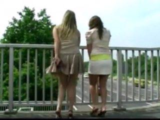 Fabulous amateur Public, Teens porn clip
