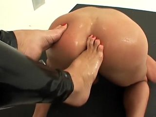 Fabulous homemade Fisting, Foot Fetish sex clip