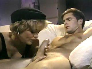 Eager Slut Corey England Pulls Her Stuntcock's Prick Into Her Cunt