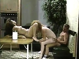 Crazy transsexual group sex