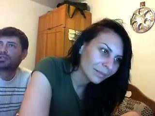 Couple Tries Out Their Live Webcam And She Shows Off Her Bo