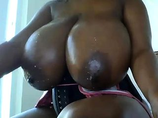 Ebony Milf With Big Nipples