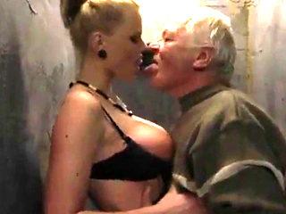 Superb Big Titted Bitch Fucking Cocks
