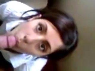 Turkish girl sucking cock blowjob