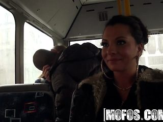 Mofos - Mofos B Sides - Lindsey Olsen - Ass-Fucked On The Public Bus