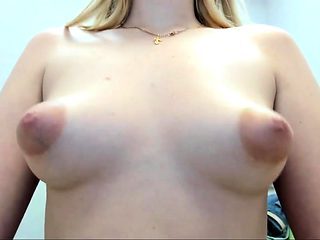 Prettiest 19yo Teen with Pierced Nipples on Webcam