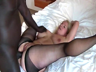 Amateur White Wife Gets Bbc Anal