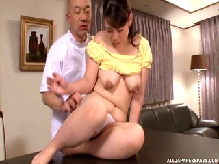 Housewife gets pounded in doggy style by a horny stud