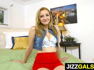 Stunning girl Jade Amber gets the dick