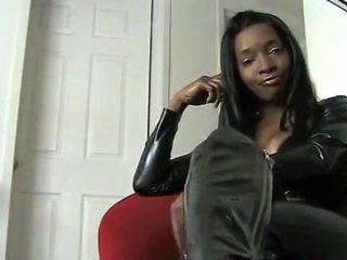 Amazing homemade Solo Girl, Black and Ebony sex scene