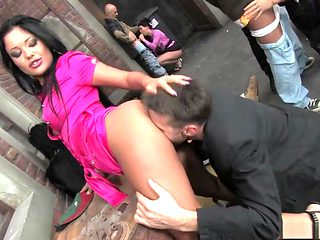 Crazy pornstars Aletta Ocean and Angelica Heart in fabulous lingerie, brunette porn clip