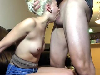 Petite Blonde Chloe Temple Rough Punishment Face Fuck & Hard Pussy Pounding