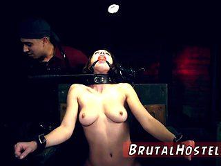Slave punishment gangbang Best buddies Aidra Fox and