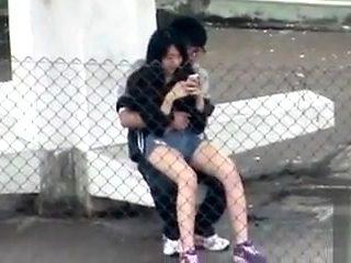 Horny Asian student wants to bang his girlfriend