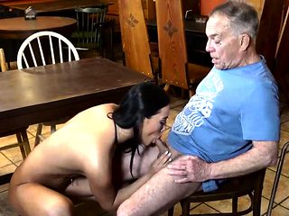Old dad and young girl Can you trust your girlplaymate leavi