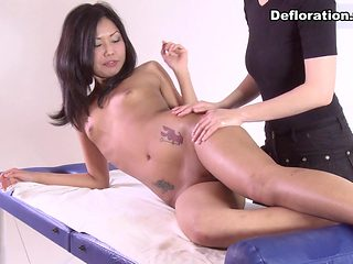 DeflorationTv Video: Erika Kleptovich - Hardcore Defloration