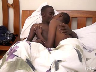 Darksome Africans Fynn and Addae Bareback