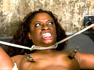 Monique in HogTied Welcome Sexy Milf Monique For Her First Hardcore Bondage Experience. - HogTied