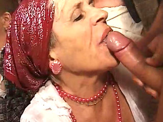 Hungarian Grannies Sucking Cocks And Group Fucked