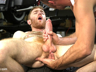Lance Hart & Seamus O Reilly in Hot Biker Stud Captures A Hung Ginger And Mercilessly Fucks His H...