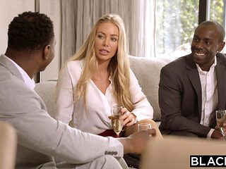 BLACKED Nicole Aniston Is Double Teamed By BBC On Her Day Off