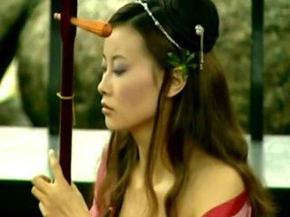 Chinese woman V violin