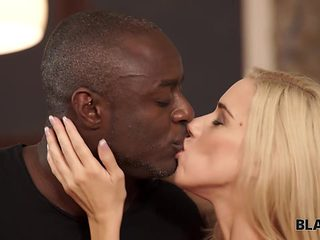 BLACK4K. Amazing sex action of black fellow and blonde sweet thing