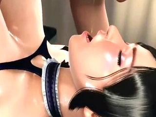 Hardcore Hentai Fuck For Busty Brunette