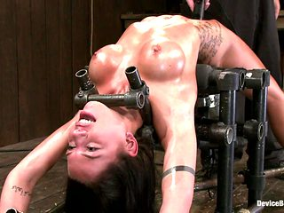 Micah Moore in Micah MooreOiled, bent, fucked and fucked hard! - DeviceBondage
