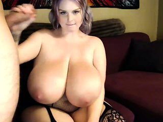 Misti Love Bouncing Her Big Natural Boobs Riding A Big Cock