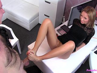 Crazy pornstar in Amazing Casting, Blonde adult video