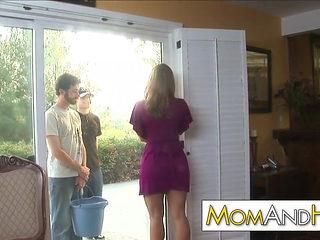 boy fucks MILF Devon Lee anal