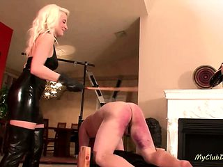 Nasty CBT and spanking compilation