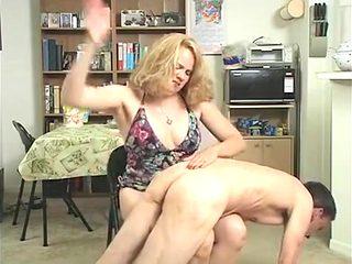 Incredible amateur Spanking, BDSM sex scene