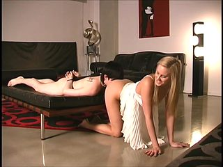 The beauty in beeing the Lady for the Slaveboy