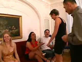 Italian Swinger Party Part.1 Of 2