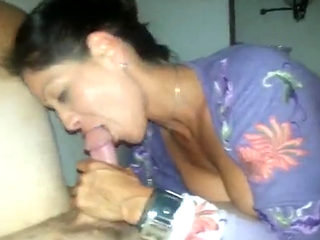Hot Cuckold Wife Sucking & Fucking Husband & Friend