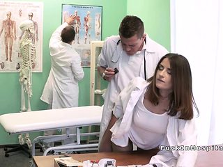 Doctor bangs tattooed student in office