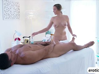 Blair Williams is massaged and fucked