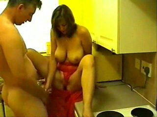 homade sex in the kitchen part1