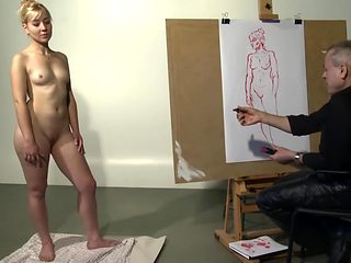 Nude Model Drawing English