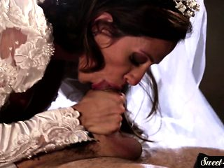 Milf bride spoon fucked in taboo action