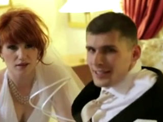 Wedding Day Fuck For This Sexy Redhead