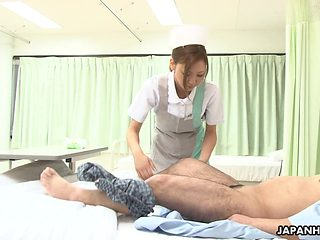 Nurse that will revive him with a cock suck