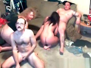 Crazy swingers party