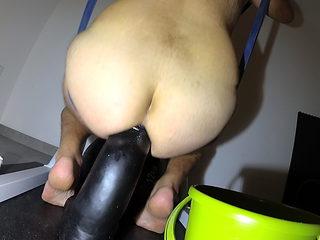 massive black dildo