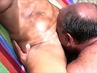 Outdoor beach sex