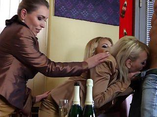 Incredible pornstars Kirsten Plant, Amadea Emily and Ferrara Gomez in hottest brunette, hd sex clip