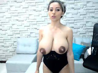 Hot latin babe Valery Sanze shows off boobs